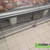Отбойники для гипермаркета «Карусель» в СПб - фото работ 4