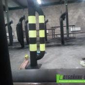 Отбойники для «X5 Retail Group» в Новгороде - фото работ 4