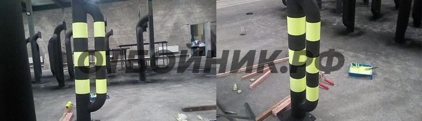 Отбойники для «X5 Retail Group» в Новгороде